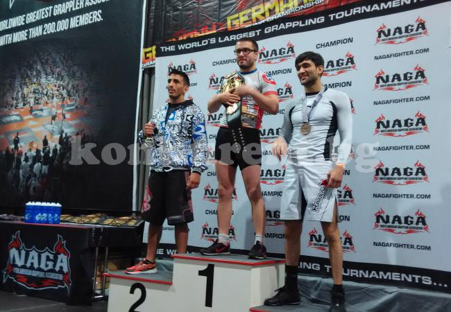 Кристиян Попов награждаване