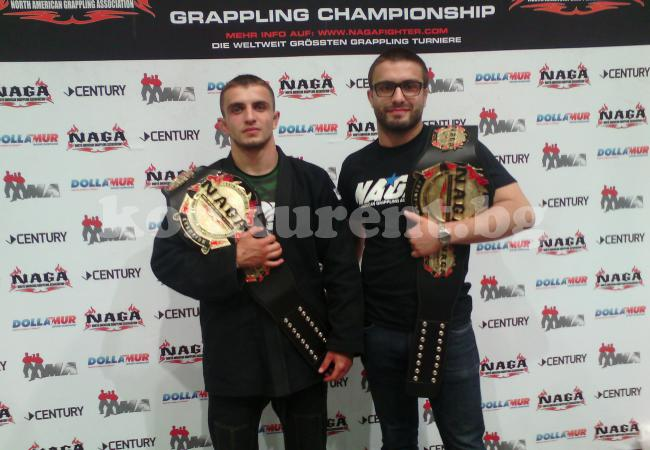 Кристиян Попов с пояса