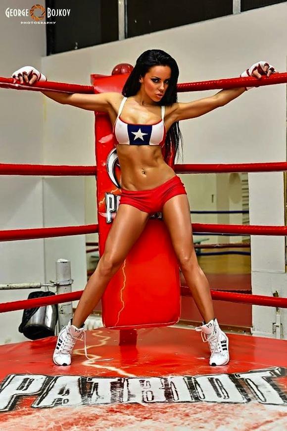 MMA Fight Girl Ann Gi