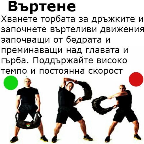 bulgarian-bag въртене
