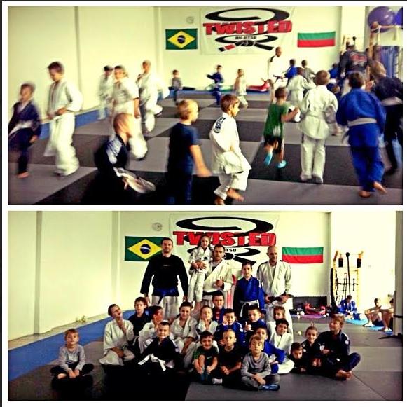 """""""Twisted Kids"""", ръководството на клуба по Бразилско Джу Джицу"""