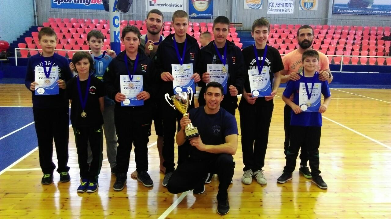 СК Тангра Свиленград отборен шампион на Купа Варна