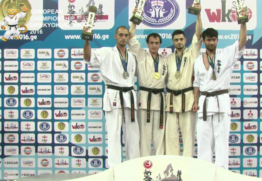 Георги Лотаров (АСКК Тракия Пловдив) (първият от ляво)