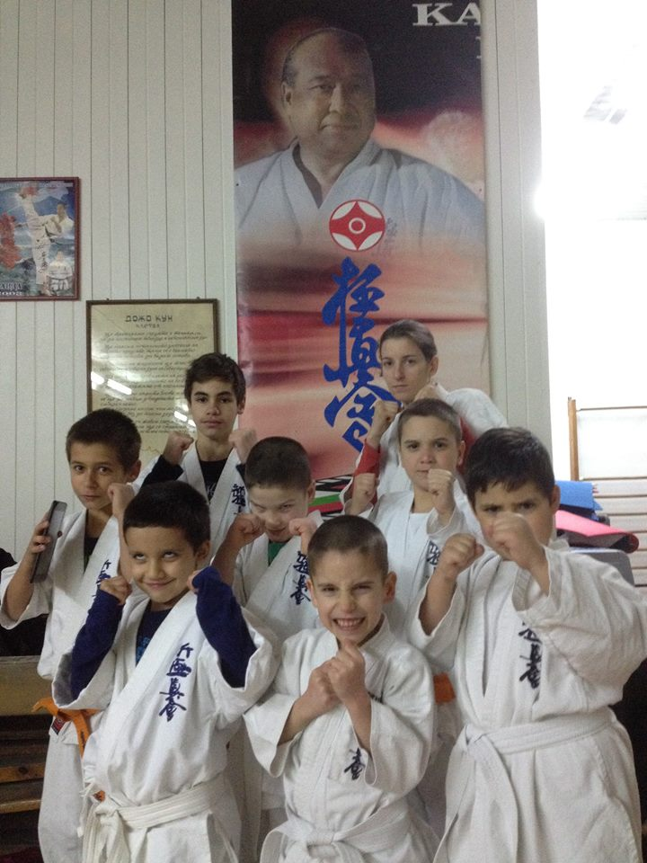 kids karate dojo