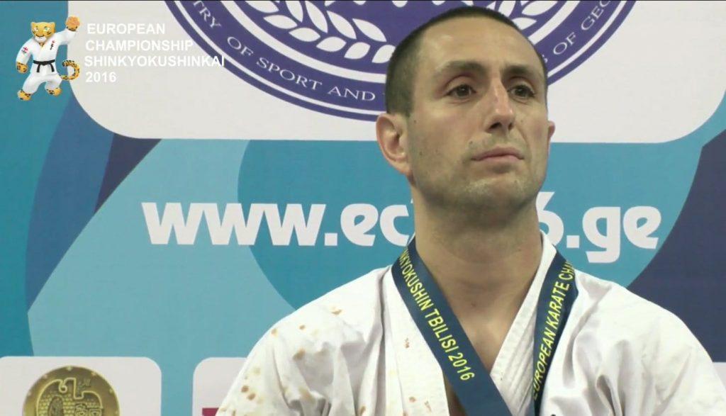 Валери Димитров (АСКК Тракия Пловдив) 16 пъти Европейски шампион