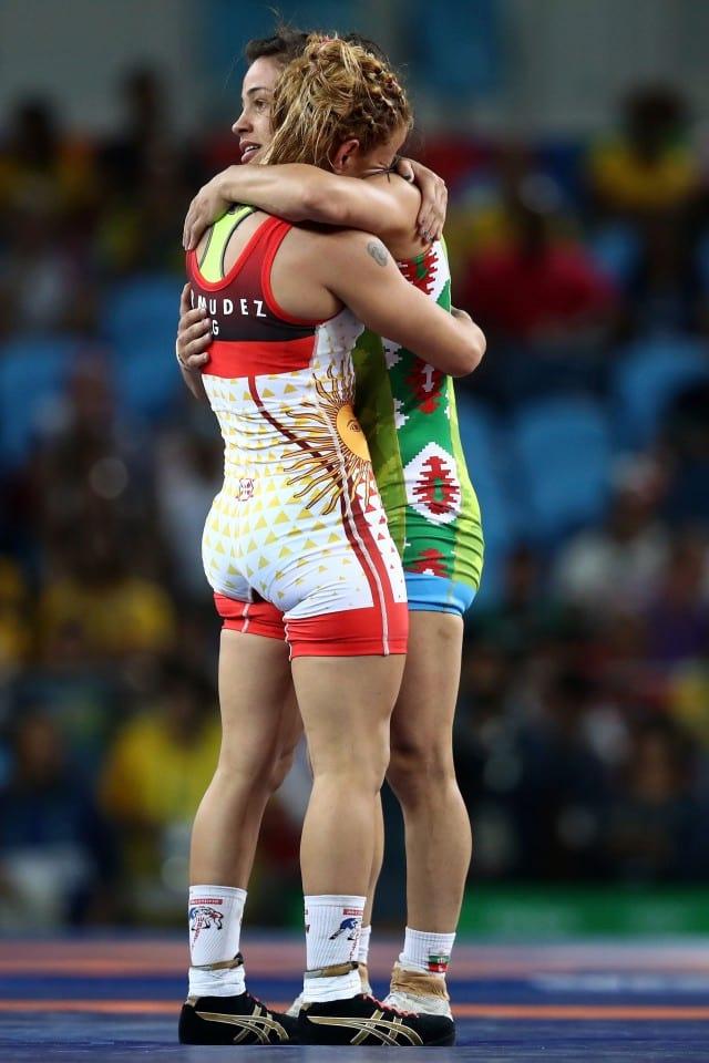 Елица Янкова мил жест 3 Рио 2016