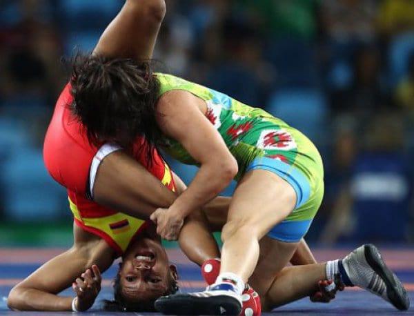 Елица Янкова полуфинал 2 Рио 2016