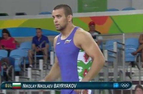 Николай Байряков борба Рио 2016