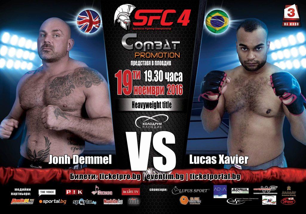 Lucas Xavier (Brasil) Vs John Demmel (England)