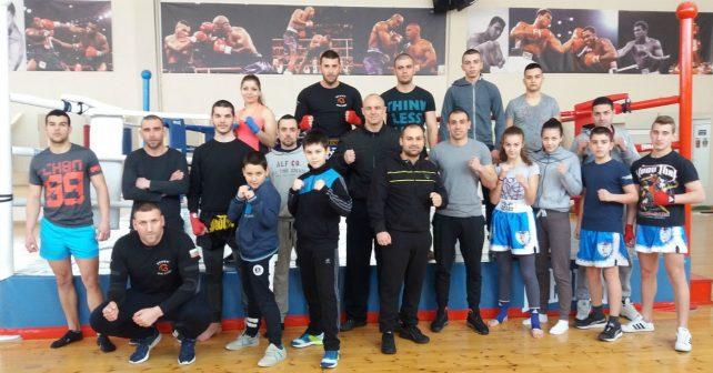 Спаринги в Пловдив по Кикбокс 2017