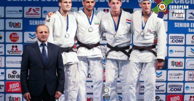 Европейска купа по джудо за мъже и жени 15 и 16 юли,2017 Саарбрюкен,Германия-Златен медал за Ивайло Иванов в кат. до 81 кг.
